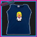 KEITH LEMON CARTOON FUNNY UNISEX VEST TOP